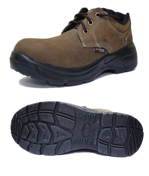 รองเท้าเซฟตี้นูบัคหุ้มส้น รุ่น Nubuck A
