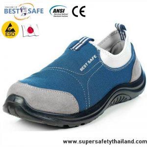 A+ รองเท้าเซฟตี้จากญี่ปุ่น รุ่น Sport Blue
