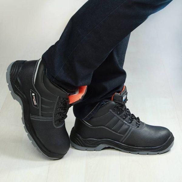 BEST รองเท้าเซฟตี้พื้น TPU ทนทาน อย่างดี รุ่น Pro High หัวเหล็ก พืนเสริมสแตนเลส