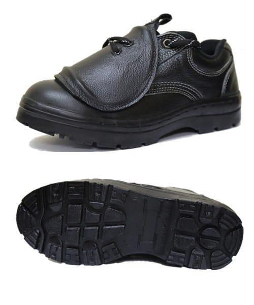 รองเท้าเซฟตี้แบบมี Guard ปิดอีกชั้น รุ่น Protector