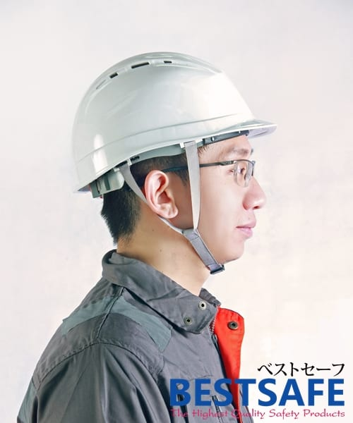 หมวกเซฟตี้นิรภัยมีรูระบายอากาศ รุ่น Best Comfort