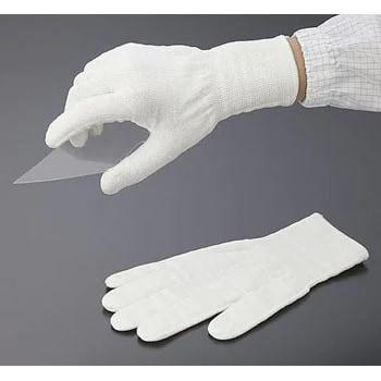ถุงมือกันบาดสีขาว กันบาดระดับ 5 สัมผัสอาหารได้ (ฝ่ามือไม่เคลือบ)