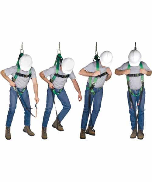 เข็มขัดเซฟตี้เมื่อเกิดการตกจากที่สูง (suspension trauma safety strap)