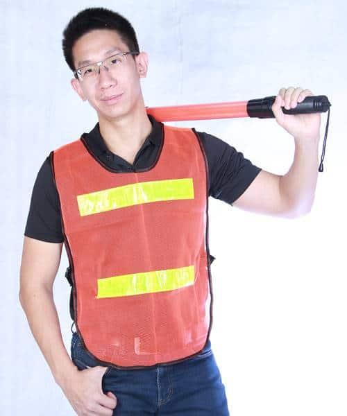 เสื้อสะท้อนแสง เสื้อกั๊กสะท้อนแสง คุณภาพสูง แบบมาตรฐาน รุ่น Best Vest 01
