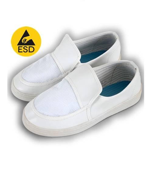 รองเท้าผ้าใบ ESD แบบระบายอากาศ