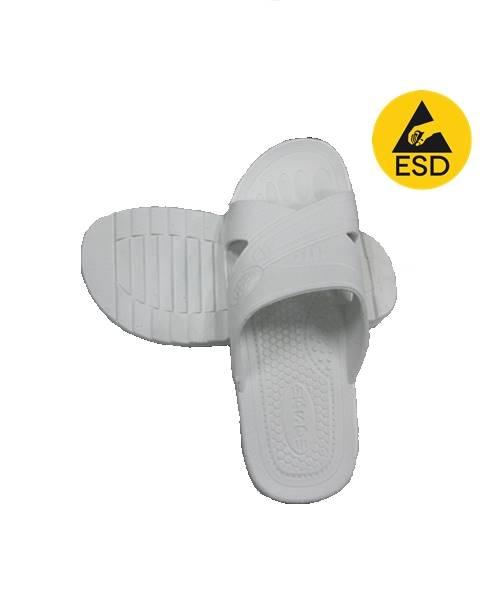 รองเท้าแตะ ESD สีขาว