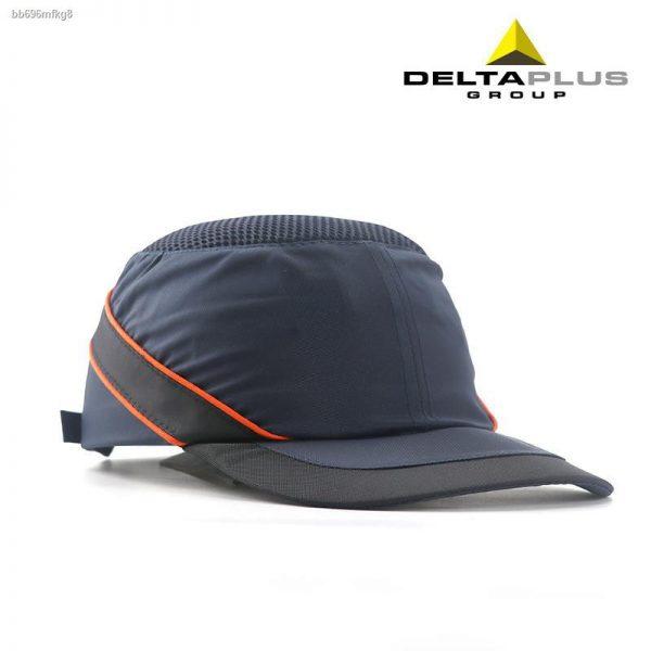 หมวกเซฟตี้นิรภัยแฟชั่น Sport รุ่น ดำคาดแถบสะท้อนแสง