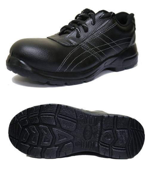 รองเท้าเซฟตี้สีดำทรงสมัยถูกใจวัยรุ่น รุ่น Anzen