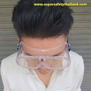 แว่นครอบตาเซฟตี้นิรภัยทรงกระชับ