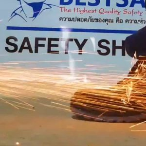 A+ รองเท้าเซฟตี้หัว Composite พื้น Kevlar หนังกันน้ำ หุ้มส้น