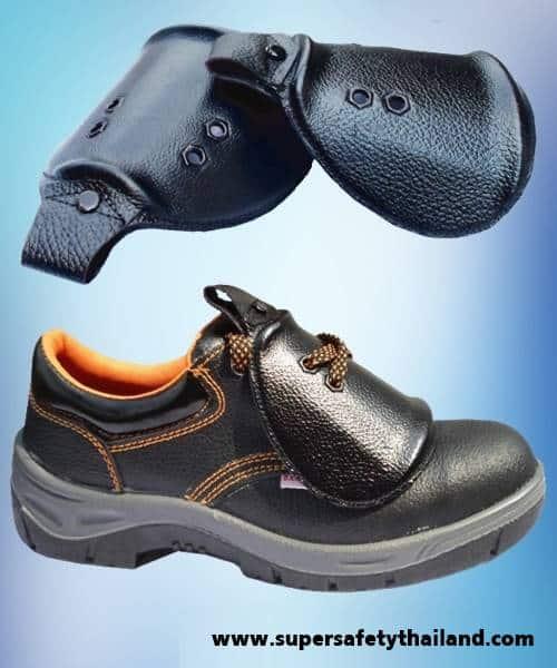 อุปกรณ์เสริม : ที่ครอบรองเท้าเซฟตี้ รุ่น Cover Plate (ขายที่ครอบไม่รวมรองเท้า) (งานสั่งผลิต ต้องรอสินค้า)
