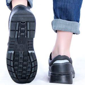 BEST รองเท้าเซฟตี้หัวเหล็ก เสริมเหล็ก มีด้านสะท้อนแสงด้านหลัง รุ่น Thunder จากสิงค์โปร์