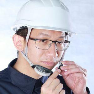 หมวกเซฟตี้อย่างดีสายรัดคาง 4 จุดพร้อมแผ่นรองคาง รุ่น PREMIUM HELMET กันไฟฟ้า กันความร้อนสูง