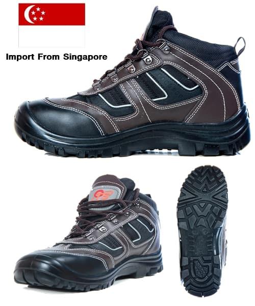 Best รองเท้าเซฟตี้หัวเหล็กเสริมเหล็กหุ้มข้อ รุ่น Sport Plus จากสิงค์โปร์ (ล้าง Stock เช็คเบอร์ก่อนสั่ง)