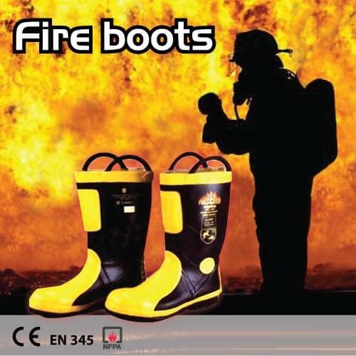 รองเท้าบู๊ตดับเพลิงราคาส่ง