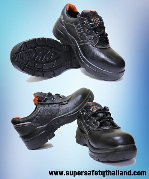 รองเท้าเซฟตี้หนังแท้ 100% ทรง SPORT Classic