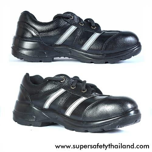 รองเท้าเซฟตี้ทรง Sport เสริมแถบสะท้อนแสง รุ่น X-Run B