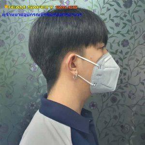 หน้ากากกันสารเคมี แบบเสริมคาร์บอน กันสารเคมี กันกลิ่น KN95 รุ่น 822CV
