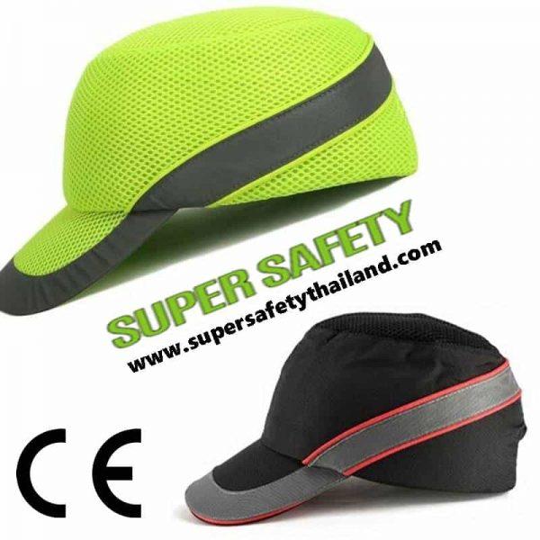 หมวกนิรภัย Sport คาดแถบสะท้อนแสงรุ่น Air Coltan-HV