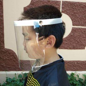 กระบังหน้าสำหรับป้องกันเชื้อ ป้องกันอันตรายต่างๆ