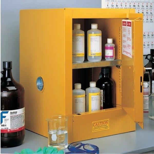 ตู้สารเคมี สารไวไฟ 4 Gallon มาตรฐาน USA