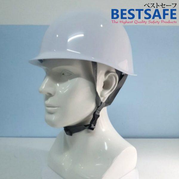 หมวกเซฟตี้ทรงญี่ปุ่นสีขาว ด้านในเสริมโฟม