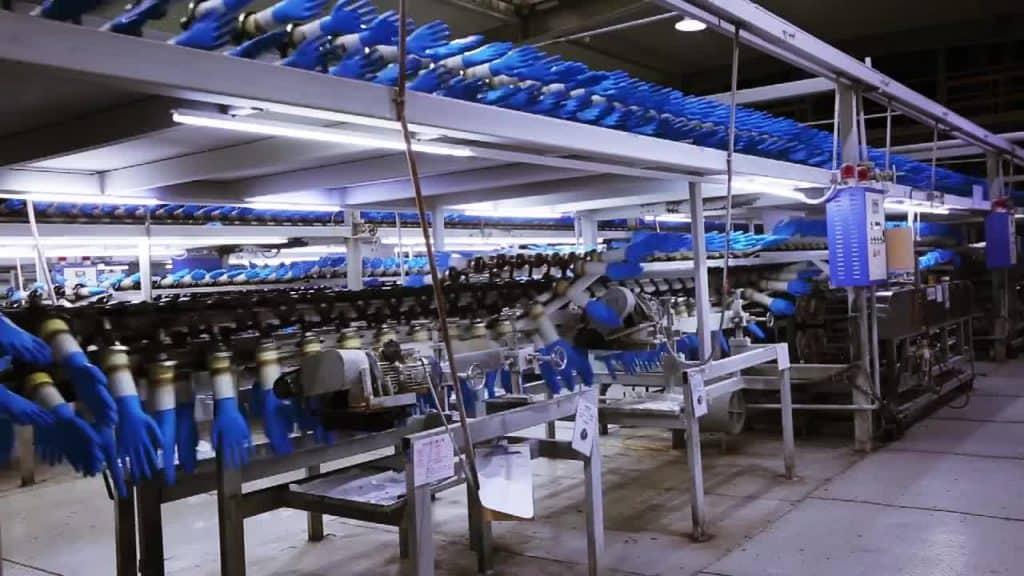 โรงงานผลิตถุงมือไนไตร
