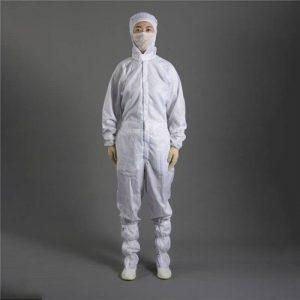 ชุดป้องกันสารเคมี พ่นสี ละอองเคมี ผ้ากันไฟฟ้าสถิตย์ ESD