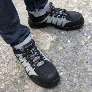 A+ รองเท้าหัว Composite ทรง SPORT รุ่น Florida (ESD) เบา และสวยมาก 100%
