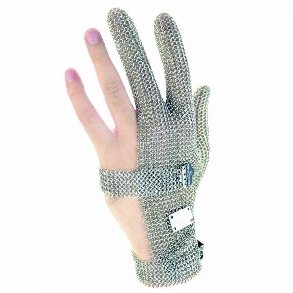 ถุงมือแสตนเลส 3 นิ้ว BEST SAFE (ราคาต่อข้าง)